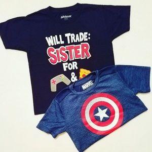 BOYS *tee shirt bundle*